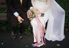 Eclectic Colourful Wedding