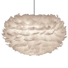 Eos fjäderlampa pendel S, vit i gruppen Belysning / Lampor / Taklampor hos Ceiling Pendant, Pendant Lamp, Pendant Lighting, Ceiling Lights, Light Pendant, Ceiling Lamp, Eos, Depot Design, Feather Lamp