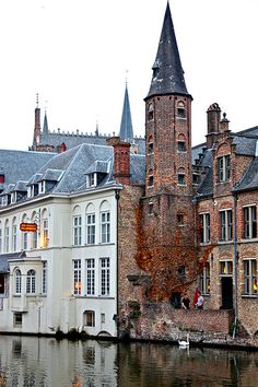 Bruges - View from the Rozenhoedkaai