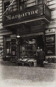Charlottenburg, Spreestraße 22, Kolonialwaren, ca. 1910