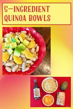 Vegan Gluten Free, Vegan Vegetarian, My Recipes, Healthy Recipes, Quinoa Bowl, Ripe Avocado, How To Cook Quinoa, Tasty, Meals