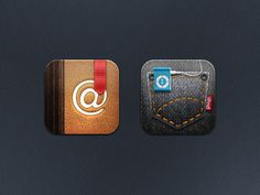 Icons | Designer: Jackie Tran \ Full set for download here - http://jackietran.deviantart.com/art/Marvelous-HD-iOS-5-Theme-276149113