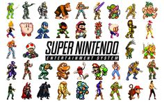 Nintendo SNES Wallpaper 1 by SolidAlexei