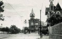 """Flamengo, 1920 - """"Castelinho do Flamengo"""", atual Centro Cultural Municipal Oduvaldo Vianna Filho"""