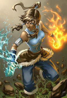 Korra from the upcoming Avatar sequel. I am so stoked for this mini-series. Other ATLA works: Avatar Korra Avatar Aang, Avatar Airbender, Blue Avatar, Team Avatar, Film Anime, Art Anime, Legend Of Korra Episodes, Avatar Fan Art, Avatar Cartoon