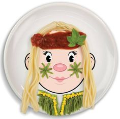 Design Your Own Miss Face Food Plate