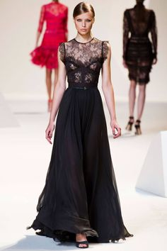 Elie Saab Spring 2013 RTW Collection - and in a perfect world I'd have a reason to wear this :p hehehe