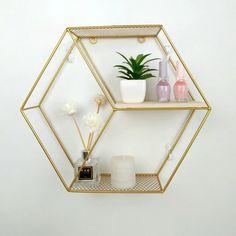 Creative Hexagon Wall Decoration Metal