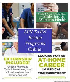 LPN To RN Bridge Programs Online