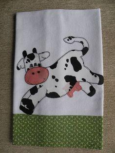 Trabalho em patchwork com tecidos 100% algodão
