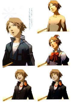 Yosuke Hanamura faces/costumes