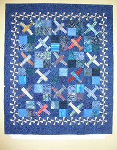 Airplane Quilt Block Tutorial … | Pinteres… : airplane quilts - Adamdwight.com