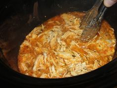 buffalo ranch chicken, slow cooker