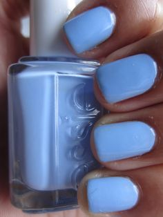 Essie Summer 2012 Collection -'Bikini So Teeny' Nail Polish...this is so beachy and would rock with a dark tan:)