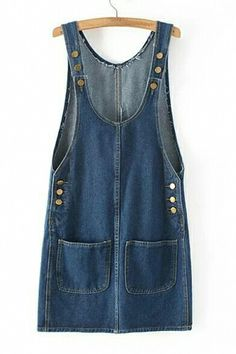 2019 New Fashion Loose Denim Dresses With Holes Jeans Suspenders One Piece All-match Long Maxi Summer Ladies Dress Jumper Dresses: 15 Outfit Ideas and Options to Shop Now Denim Jumper Dress, Jeans Dress, Casual Dresses, Short Dresses, Denim Dresses, Denim Fashion, Fashion Outfits, Moda Jeans, Salopette Jeans
