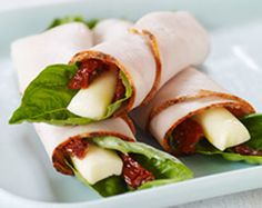 Mediterranean Turkey Roll-Ups - Better Nutrition Magazine - Supplements, Herbs, Holistic Nutrition, Natural Beauty Products