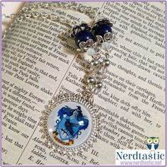 Harry Potter Ravenclaw House Necklace #harrypotter