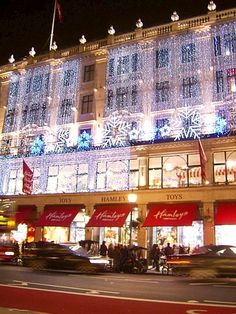 Hamleys toy store... Ideally I'd have the store to myself for the day!
