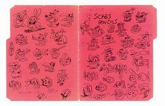 Peek Inside The Notebooks Of The World's Best Comic Artists | Co.Design: business + innovation + design