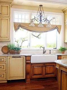 Little more white color on cabinets and win the lotto would be all set !