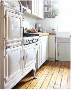 Vintage Kitchen; Johnny Miller Photo