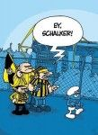 Ein Schlumpf in Dortmund :-)