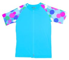 Awesomely stylish turquoise Girls' skinz with #UPF 50+ for girls that love the outdoors and the ocean! #beach #kids #Newtz
