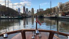 Deze mooie foto maakte schipper Herman van der Graaf in Rotterdam, zomer 2017
