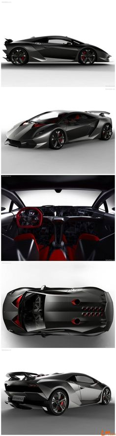 Lamborghini Sesto Elemento - It's name is a reference to the atomic number of carbon, in recognition of the car's extensive use of carbon fibre. Absolutely gorgeous and amazing! 0-60 in 2.5 secs!!!!!! #lamborghinisestoelemento