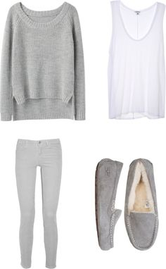 """""""Cozy Winter Outfit"""" by rosie-00 ❤ liked on Polyvore"""