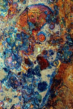 macro grunge art / rusting decaying grime ridden object that looks like the river has washed it to the river bank / leeds Buy this artwork on apparel stickers phone cases and more. Arte Grunge, Grunge Art, Peeling Paint, Rusty Metal, Oeuvre D'art, Textures Patterns, Abstract Art, Artsy, Colours