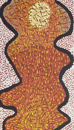 Wardapi Jukurrpa - Yarripurlangu de Tess Ross NAPALJARRI. Acrylique sur toile. #artaborigene #contemporain #australie Aboriginal Painting, Aboriginal Artists, Art Occidental, Gelli Printing, Galerie D'art, Symbols, Prints, Aboriginal Art, Contemporary