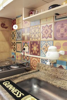 1000 images about cocinas on pinterest open shelving - Tapar azulejos cocina ...