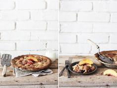Alabama Peach and Blackberry Cobbler with Almond Crust — Roost