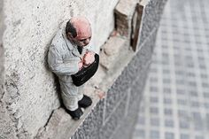 The Unseen Lives of Miniature Cement People Artwork by ISAAC CORDAL