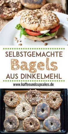Selbstgemachte Bagels aus Dinkelmehl | Kaffee & Cupcakes