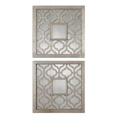 @Overstock.com - Sorbolo Squares Decorative Mirror (Set of 2) - Dining room   http://www.overstock.com/Home-Garden/Sorbolo-Squares-Decorative-Mirror-Set-of-2/7897285/product.html?CID=214117  $217.80
