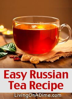 Easy Russian Tea Recipe