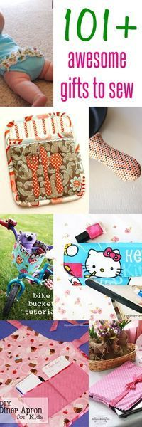 50 DIY Sewing Gift Ideas You Can Make For Just About Anyone ...
