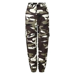 ouxiuli Womens Camo Sports Cargo Pants Outdoor Camouflage Trousers Jeans