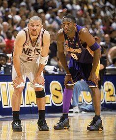 Kobe Bryant and Jason Kidd