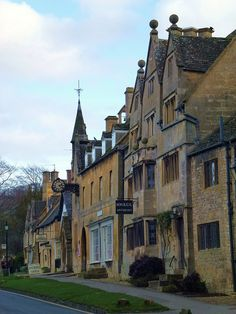 Broadway, Worcestershire, England This is where I once worked.