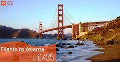 Find Great Deals on Flights to Atlanta from Dream World Travel.Get cheap Flight Deals, Holiday Deals and Hotel Deals to your Favourite destinatons worldwide at www.dwtltd.com.  #CheapFlights #Flights #Deals #To #Atlanta