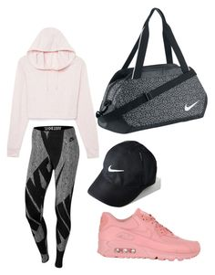 """Training day!!!"" by eriarai on Polyvore featuring NIKE"