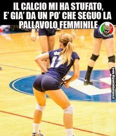 * La pallavolo è il nuovo calcio (www.VignetteItaliane.it)