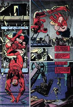 Frank Miller and Klaus Janson's Daredevil