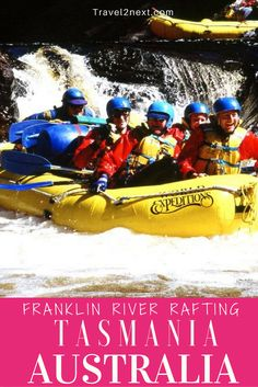 Franklin River rafting in Tasmania. You are not important here, in this wild place. The seasons determine when you come and the river decides how long you'll stay.