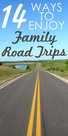 """Are we there YET?!""  Road trips don't have to fill you with dread. Here are 14 ways to actually ENJOY your next family road trip!"