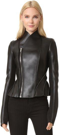 Rick Owens Lilies Leather Jacket