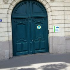 French door, Nantes.